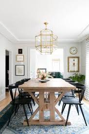 a 1930s fixer upper gets a modern renovation farmhouse dining room