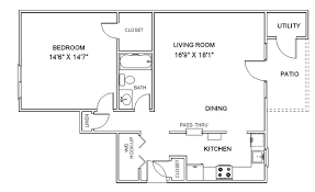 floor plans. Apartment Floor Plans One Bedroom Apartments In Clifton Park NY