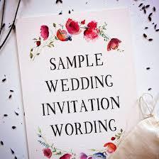 Sample Of Wedding Invatation 15 Creative And Traditional Wedding Invitation Wording Samples