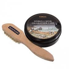 harkila mink oil leather care and etaleur saphir brush zoom