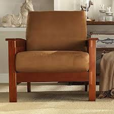tribecca home furniture. Affordable TRIBECCA HOME Hills MissionStyle Oak And Rust Microfiber Accent Chair Kitchen Furniture Brown With Tribecca Home