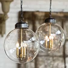 glass large pendant lighting