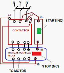 magnetic starter wiring diagram start stop wiring diagram direct online starter wiring diagram direct online starterdol