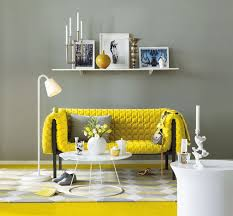 Yellow and grey furniture Grey Green Interior Design Ideas Yellow Room Interior Inspiration 55 Rooms For Your Viewing Pleasure
