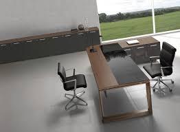 arche executive desk glass wood top