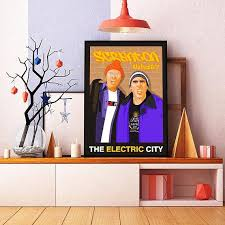 Poster The Office The Office Tv Show Inspired Poster Scranton The Electric City Dwight