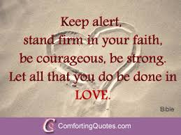 Strong Love Quotes Interesting Strong Biblical Love Quote With Image ComfortingQuotes