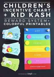 Somewhat Simple Chore Chart Behavior Chart Kid Kash Printables Somewhat Simple