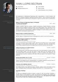 Resume Examples By Real People Volvo Mechanical Engineer Internship