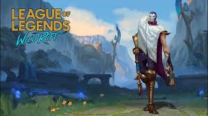League of Legends Wild Rift Beta Test: Jhin Gameplay - YouTube