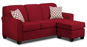 ashby chaise sofa  red  leon's