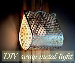 diy industrial modern pendant light
