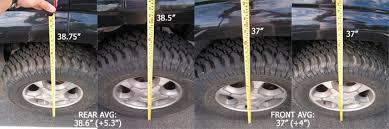 trailblazer tire size modifications jamesdownings trailblazer