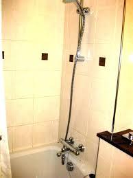 bathtub hose attachment tub faucet spout dog