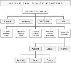 Organizational Chart Of Multinational Company Organizational Structures In International Business