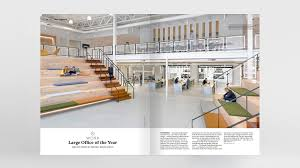 uber office design studio. The Uber ATG Center In Pittsburgh, Pennsylvania, By Assembly Design Studio Received Large Office Of Year Award For Its Transparency Between