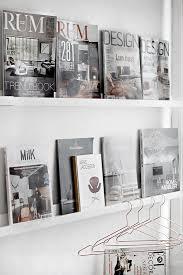 magazine shelves for all the motorsport magazines (zzzz)