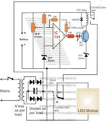 23 rechargeable led lamp circuit diagram making an automatic emergency lamp using smd leds bigtentpoetry org
