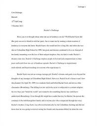joy scott essay rachel joy scott essay