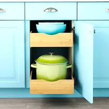pull out cabinet organizer cabinet drawers bamboo pull out cabinet drawers the container base cabinet