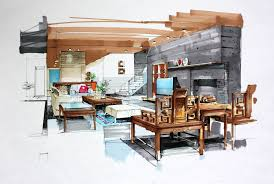interior designers drawings. Nifty Drawing Interior Design A33f In Most Creative Furniture For Small  Space With Interior Designers Drawings S