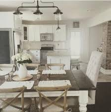 farmhouse lighting ideas. white wood and metal my favorite the light fixture is really nice farmhouse lighting ideas pinterest