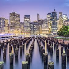 new york city skyline wooden jigsaw puzzle 800x800px