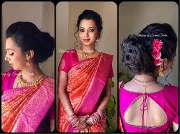 simple yet elegant our bride aditi looks gorgeous for her reception makeup and hairstyle