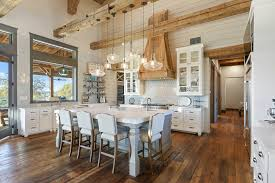Image From Post Modern Farm Kitchen With Farmhouse Sink White Rustic