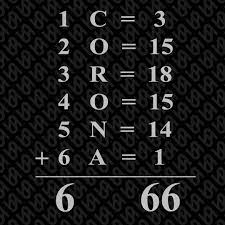 Sessy Nails - The gematria of corona equals to 666! 😱...