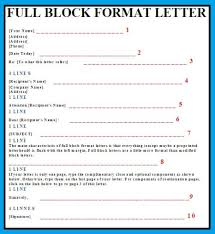 Full Block Format Fresh Concept Letter Example Eng 301 Business