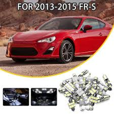 Scion Frs Led Lights Us 12 79 36 Off For Scion Fr S 2013 2015 11pcs Blue White Red Car Led Light Bulbs Interior Package Kit Dome Lights License Plate Light Map In Signal