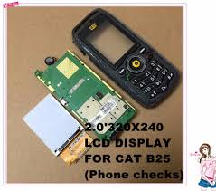 LCD DISPLAY FOR CAT B25 / Toughphone ...