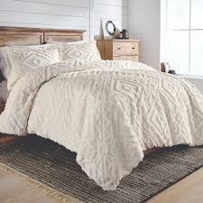 better homes gardens full queen 3 piece chenille duvet cover set com