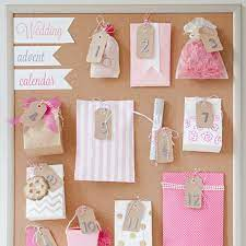 So i need 22 small things to put. How To Make A Wedding Advent Calendar