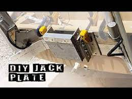 diy jack plate for small outboard
