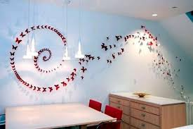 paper craft for wall decoration handmade erflies decorations in wall decoration with paper craft
