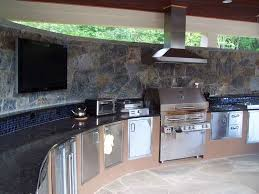 outdoor kitchen work by professional stone work silver spring md 20906