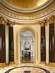 Rotunda In A BeauxArts Mansion Note Rotunda Concept Indoor And Inspiration Beaux Arts Interior Design