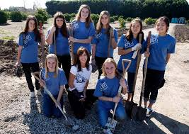 Teen organizations volunteer section community