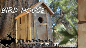 Rustic Birdhouses Rustic Bird House From Pallet Wood Youtube
