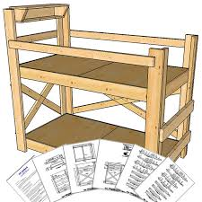 twin size bunk bed plans medium height