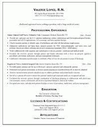 Free Nursing Resume Templates Lpn To Rn Sample Nurse Examples