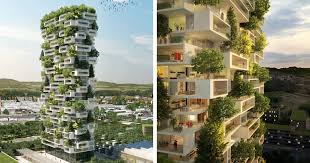 apartment architecture design. Beautiful Apartment 384ftTall Apartment Tower To Be Worldu0027s First Building Covered In  Evergreen Trees  Bored Panda Architecture Design