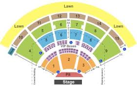 Pnc Music Pavilion Charlotte Nc Seating Chart Www