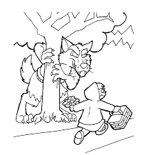 Leuk Voor Kids De Grote Boze Wolf En Roodkapje