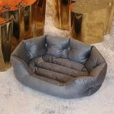luxury dog bed furniture. High Quality PU Rectangle Soft Waterproof Cat Bed Cushion Round Warm New  Style Luxury Pet Dog Luxury Dog Bed Furniture O