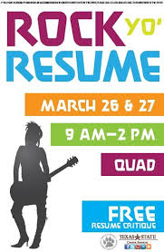 In Preparation For The Spring Job Internship Fair Career Services Beauteous Resume Critique