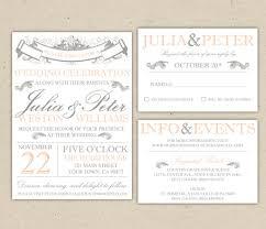 Wedding Invitation Templates For Microsoft Word Free