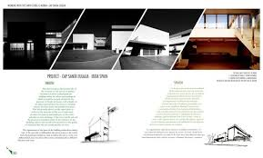 architecture portfolio layout Idealvistalistco